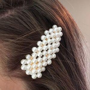Beaded hair clip